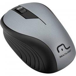 MOUSE SEM FIO 1200 DPI PRETO/GRAFITE USB MO213 MULTILASER