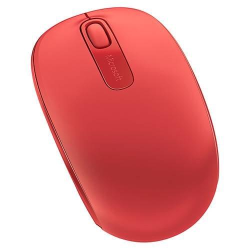 Mouse sem Fio 1850 Microsoft Vermelho
