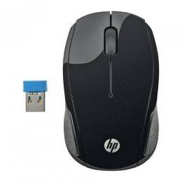 MOUSE SEM FIO PRETO X200 USB X6W31AA HP