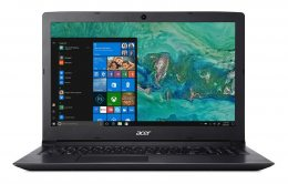 NOTEBOOK ACER ASPIRE A315-53-32U4 INTEL I3-7020U 4GB RAM 1TB HD 15.6 W10