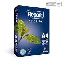 PAPEL A4 REPORT 75GR 500 FOLHAS