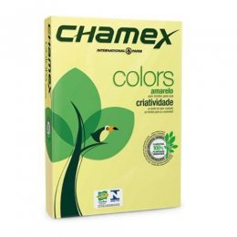 PAPEL CHAMEX COLORS AMARELO 75 G/M2 210 X 297 MM A4
