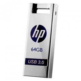 PEN DRIVE 64GB FLASH DRIVE 795W USB 3.0 HP PRATA