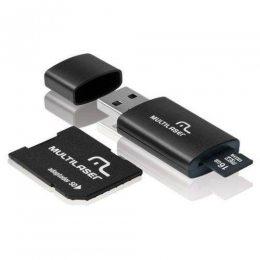 PEN DRIVE C/ ADAPTADOR MICRO SD 16GB CLASSE 10 MC162 MULTILASER