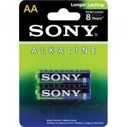 PILHA ALCALINA AA 1,5V BLISTER C/2 AM3L-B2D SONY