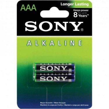 PILHA ALCALINA AAA 1.5 C/2 SONY