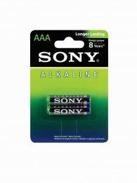 PILHA ALCALINA AAA 1,5V BLISTER C/2 AM4L-B2D SONY