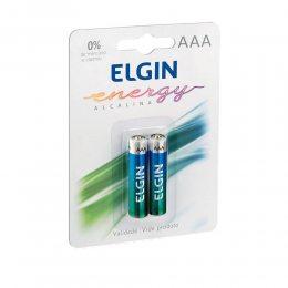 PILHA ALCALINA AAA LR03 1,5V BLISTER C/2 82154 ELGIN