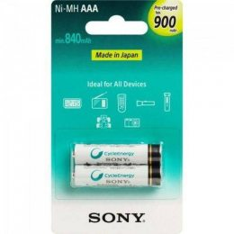 PILHA RECARREGAVEL AAA CYCLE ENERGY NH-AAA-B2GN C/2 SONY