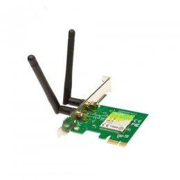 PLACA DE REDE PCI-E WIFI N300 2 ANTENAS TL-WN881ND TPLINK