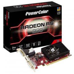 PLACA DE VIDEO PCI-E AMD RADEON R5 230 2GB DDR3 64B GALAX