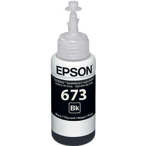 Refil Tinta T673120-al Preto 70ml Epson