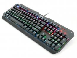 TECLADO MECANICO GAMER REDRAGON VARUNA RGB K559 RGB
