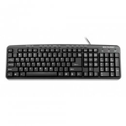 TECLADO MULTIMIDIA SLIM PRETO USB TC071 MULTILASER