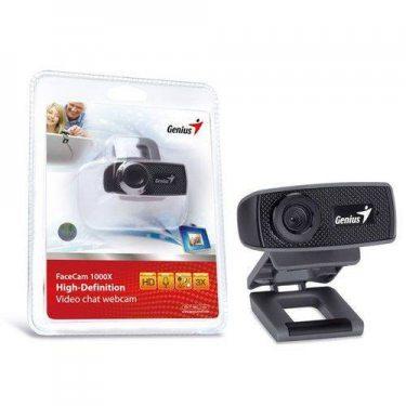 Webcam Facecam 1000x Hd 720p Preto Genius